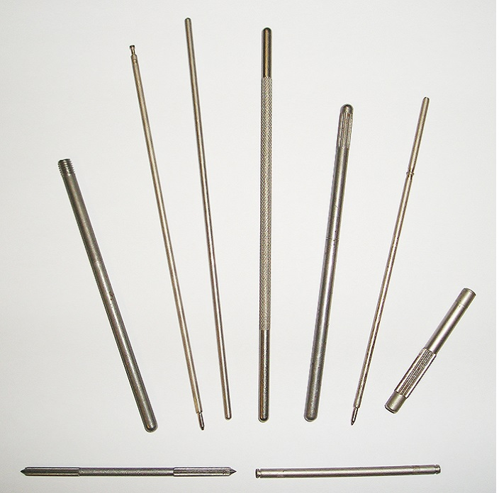 Roll Formed and Cold Headed Pins
