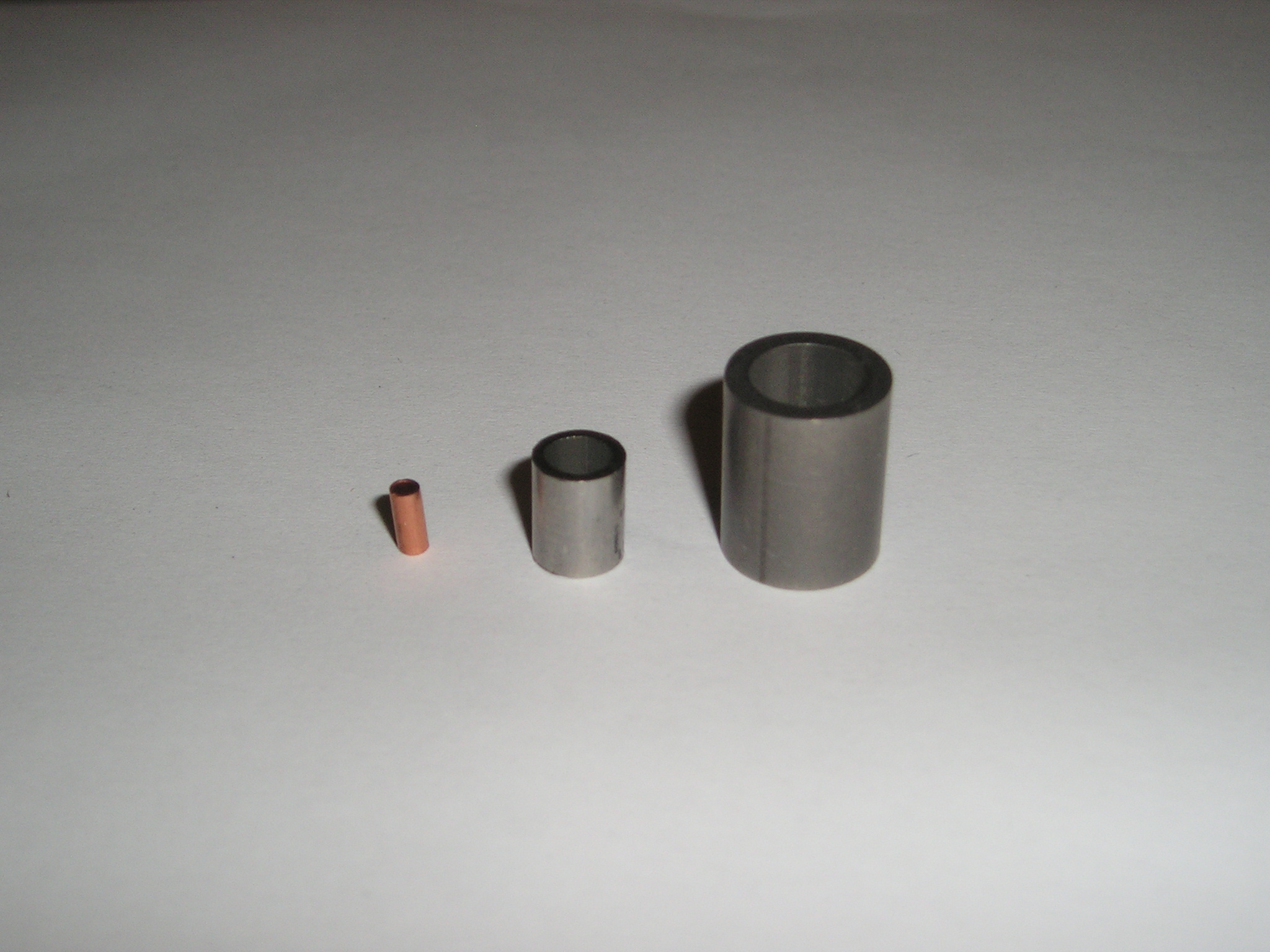 Tube cutting services copper ferrules