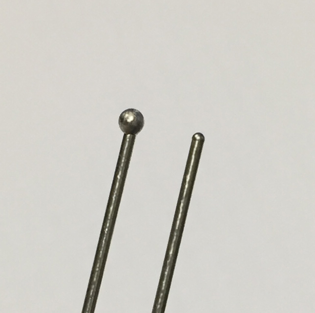 Medical Wire with Radius Ends