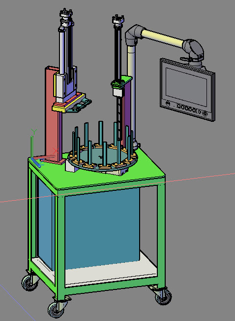 Spring Setting and Spring Testing Servo Machine